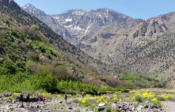 Morocco with kids hike
