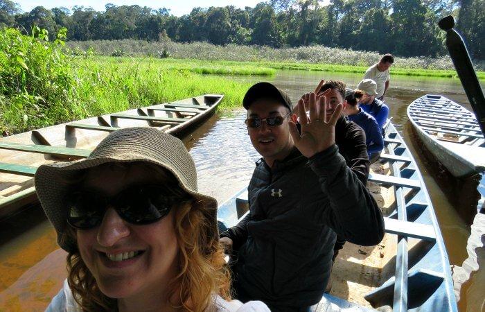 Touring Peru - Amazon boat excursion