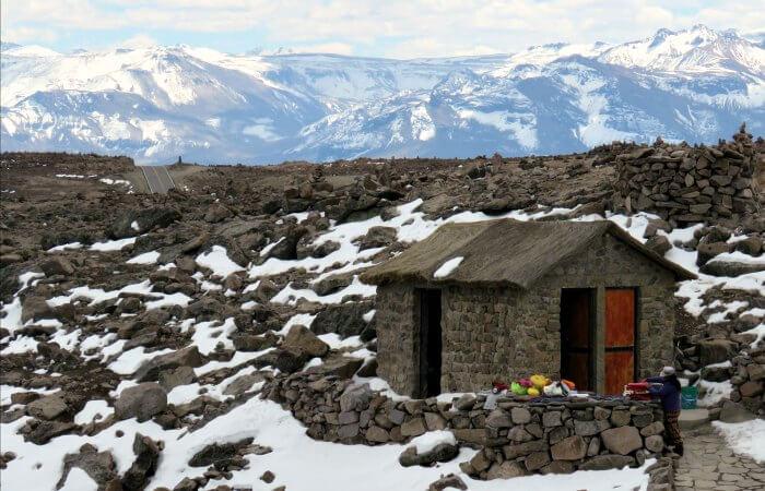 Touring Peru - route to Arequipa