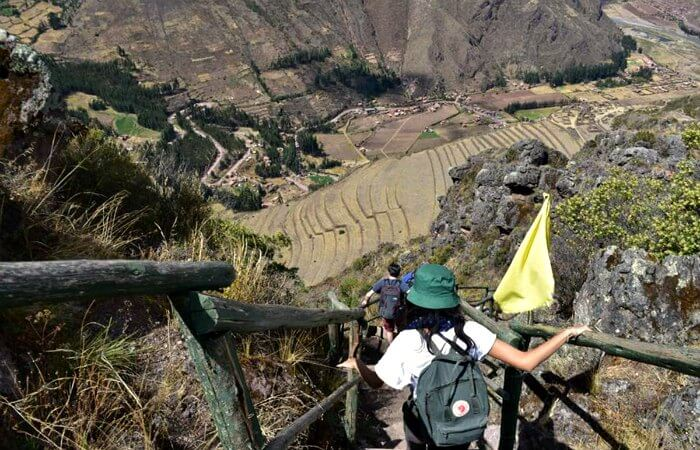 Peru with kids, exploring Pisac on a family holiday