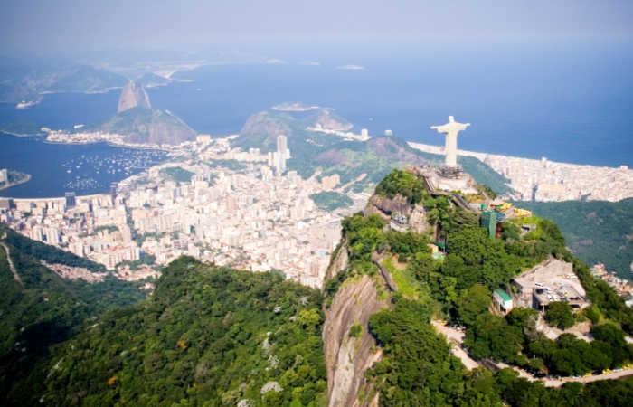 Rio de Janeiro aerial view - Easter family holidays