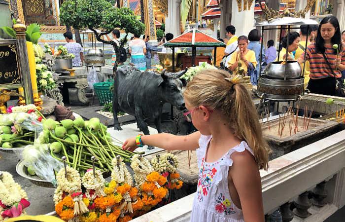 Thailand food market - Thailand with children itinerary