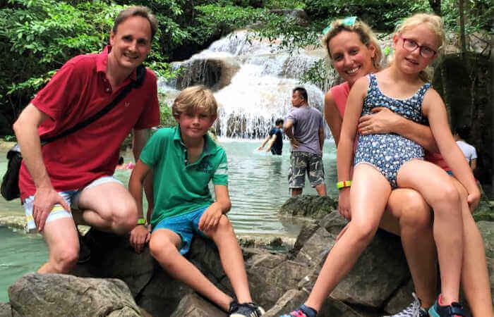 Erawan Falls - Places to visit in Thailand