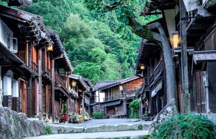 Japan itineraries - Kiso Vally - Nakasendo route