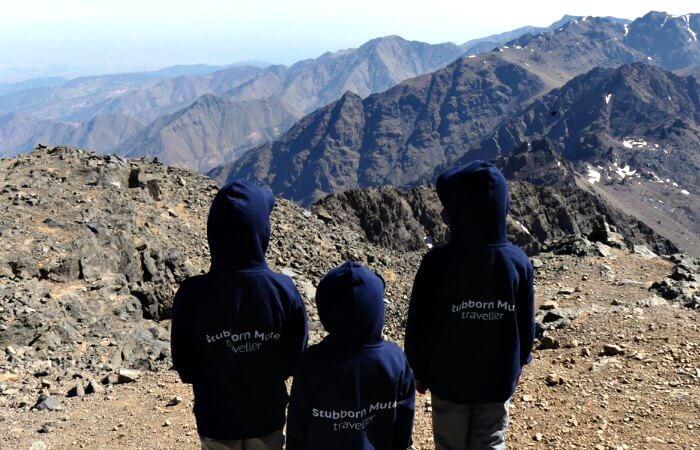 travel trends 2019 - kids in Stubborn Mule hoodies