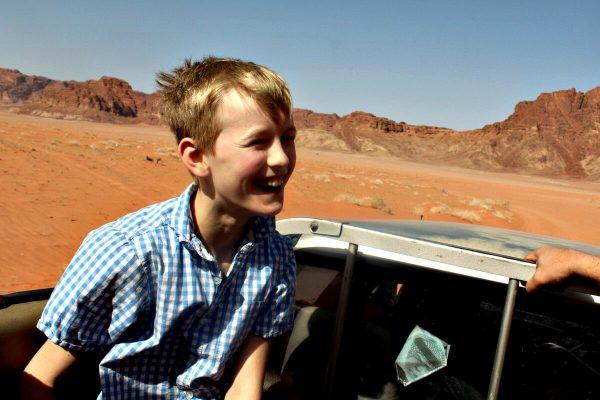 Jordan with kids - Wadi Rum