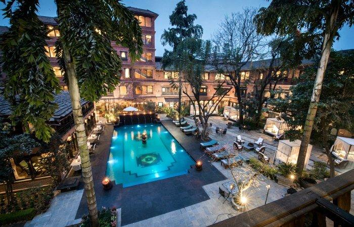 Dwarikis Kathmandu Valley Facade - Luxury family holidays