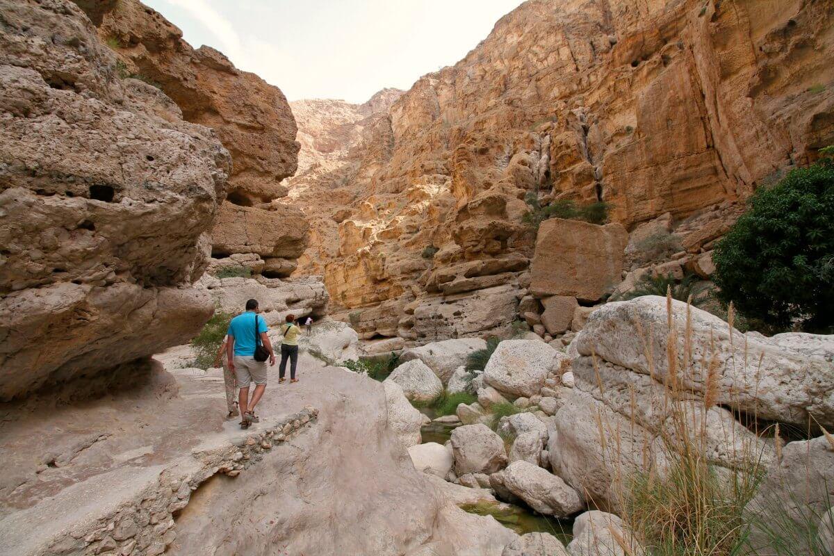 Wadi - Oman - photo by Mike Unwin