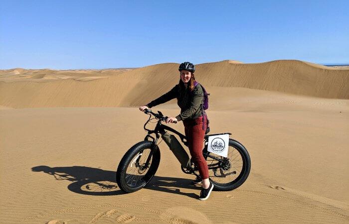 Fat biking - Namibia for kids itinerary