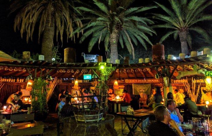Joe's Beer Garden in Windhoek