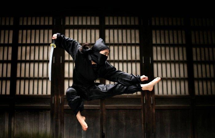 Ninja woman - Ninja Akasaka - Tokyo with kids itinerary