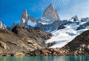 Laguna de Los Tres and Fitz Roy, Patagonia, Argentina