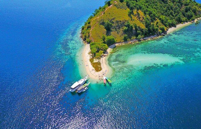 Beach on Flores Island, Indonesia