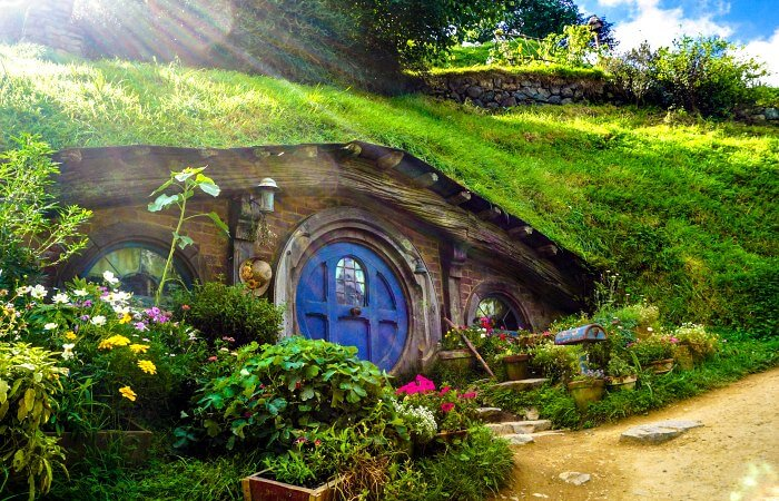 Hobbiton movie set - New Zealand family holidays itinerary