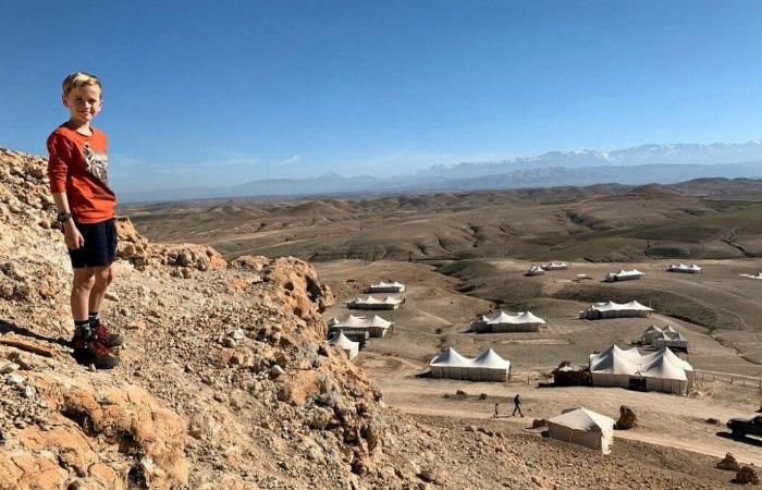 October half term in Morocco's Agafy desert