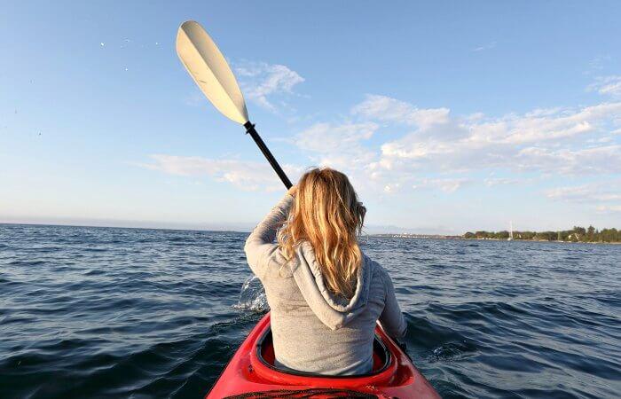 Customer review, kayaking Vancouver Island