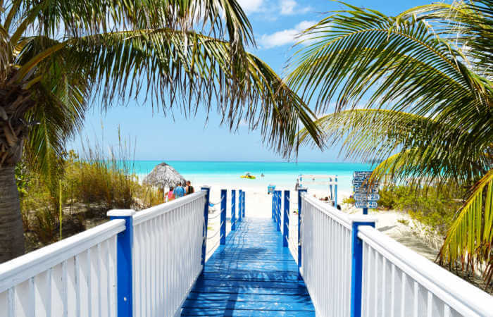 Beach at Cayo Coco - Cuba with kids holiday