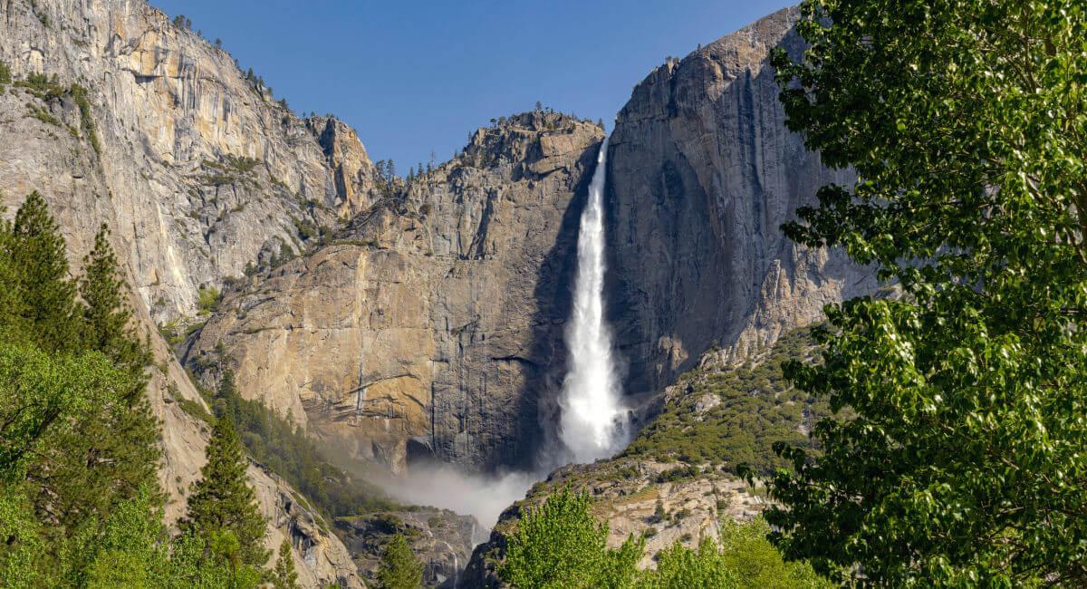 Yosemite Falls at Yosemite National Park - Food for soul