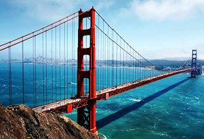 Classic California family holiday - Golden Gate Bridge, San Francisco