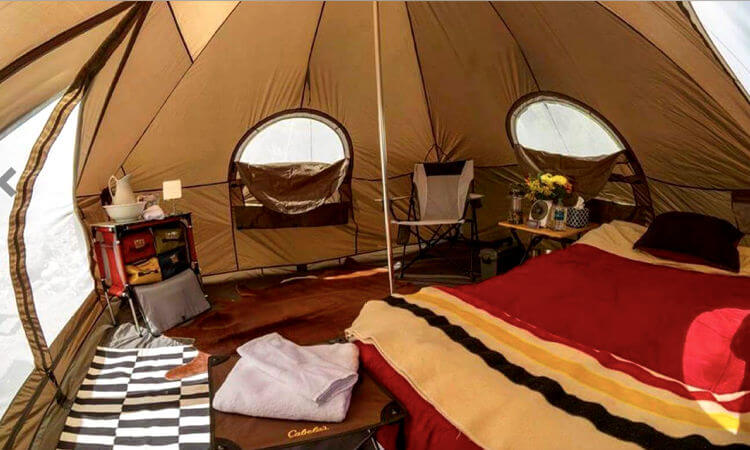 Glamping in Arizona - where to stay in USA