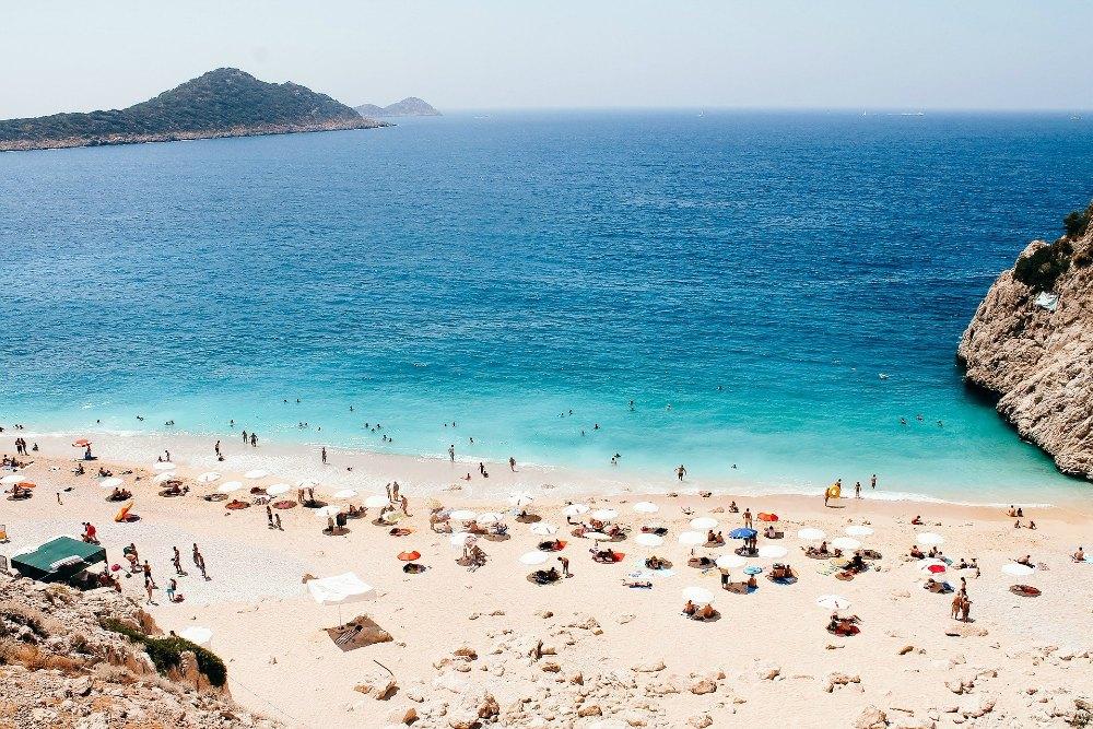 Places to visit in Turkey - Kaputas Beach on the Turquoise Coast, Turkey