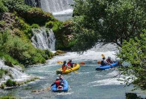 Croatia itineraries - kayaking in Croatia with the family