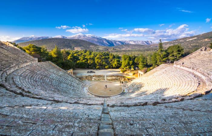 Epidaurus amphitheatre - Peloponnese