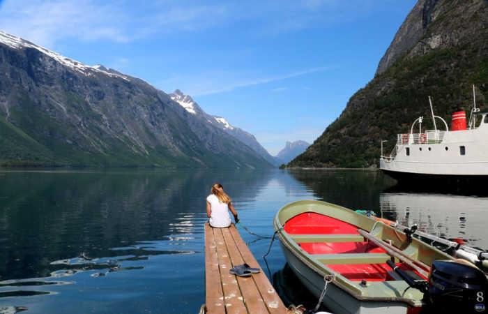 Norway family adventure holidays - fjord scene