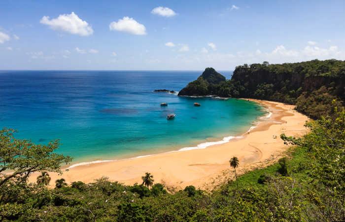 Family adventure holidays in Brazil - sandy beach example