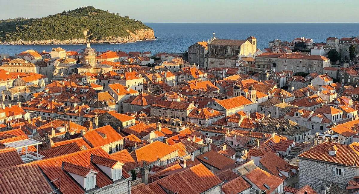 View of Dubrovnik - Croatia in photos