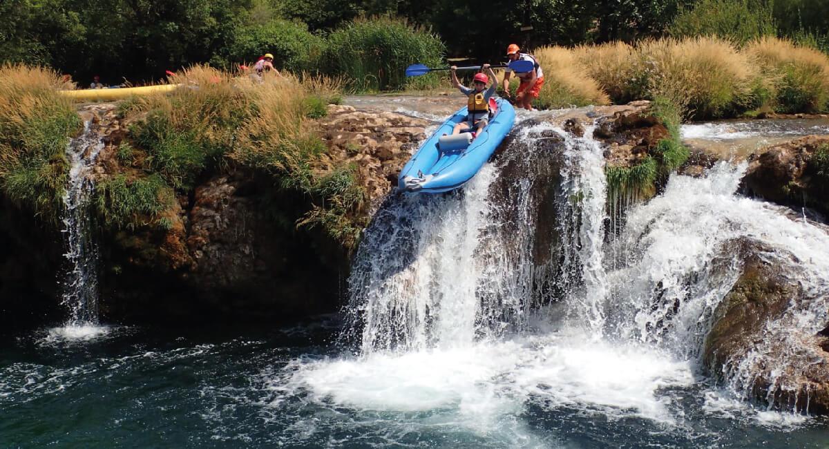 Rafting in Croatia - Croatia in photos